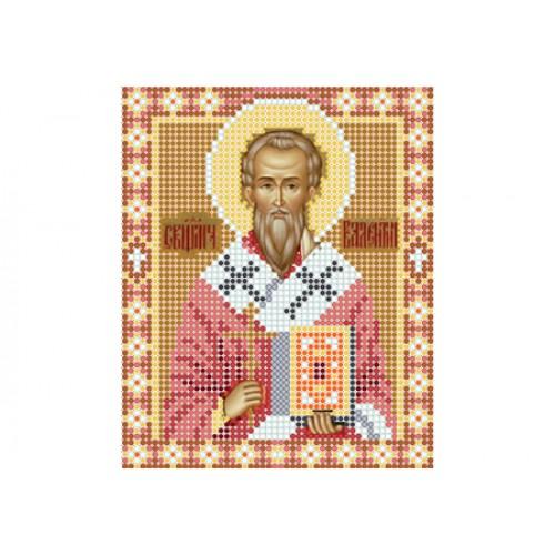 """Схема для вишивки бісером ікони """"Святий Валентин"""""""