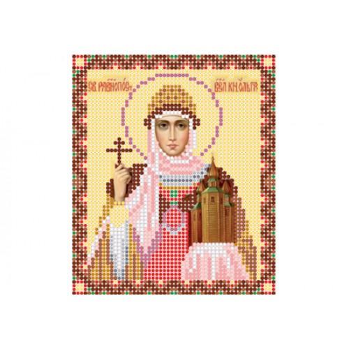 """Схема для вышивки бисером иконы """"Святая равноапостольная княгиня Ольга"""""""