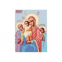 """""""Божа матір Три радості"""" - Схема для вишивки бісером ікони"""