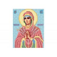 """""""Божа матір Семистрільна"""" - Схема для вишивки бісером ікони"""