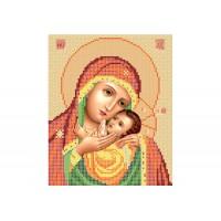 """""""Божья матерь Касперовская"""" - Схема для вышивки бисером иконы"""