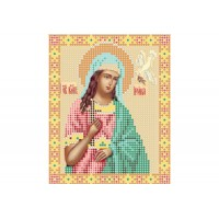 """""""Святая Ирина"""" - Схема для вышивки бисером иконы"""