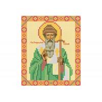 """Икона """"Святой Спиридон Тримифунтский"""". Схема для вышивки бисером"""