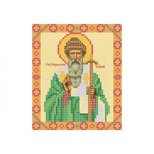 """Схема для вышивки бисером иконы """"Святой Спиридон Тримифунтский"""""""