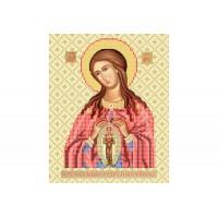 """""""Божья матерь Помощница в родах"""" - Схема для вышивки бисером иконы"""