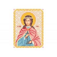 """""""Святая мученица Юлия"""" - Схема для вышивки бисером иконы"""
