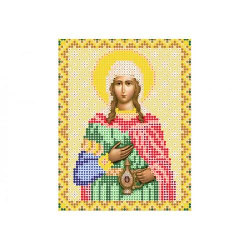 """Схема для вышивки бисером иконы """"Святая мученица Светлана, Фотина"""""""