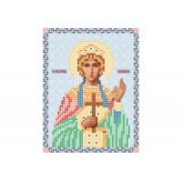 """""""Святая мученица Александра"""" - Схема для вышивки бисером иконы"""