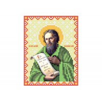 """""""Человек божий Алексий"""" - Схема для вышивки бисером иконы"""