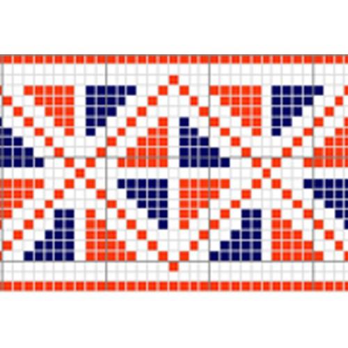 """Бесплатная схема для вышивки крестом """"Орнамент 1"""""""