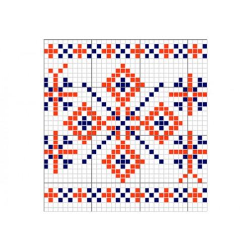 """Бесплатная схема для вышивки крестом """"Орнамент 5"""""""