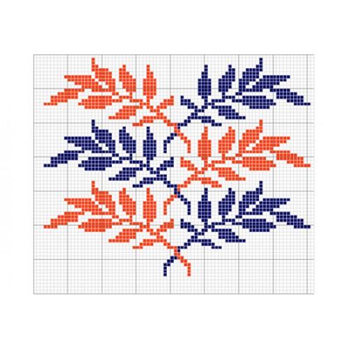 """Бесплатная схема для вышивки крестом """"Орнамент 7"""""""