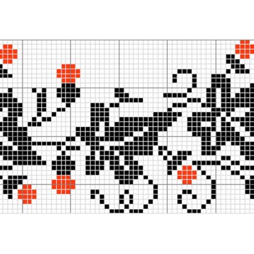 """Бесплатная схема для вышивки крестом """"Орнамент 10"""""""