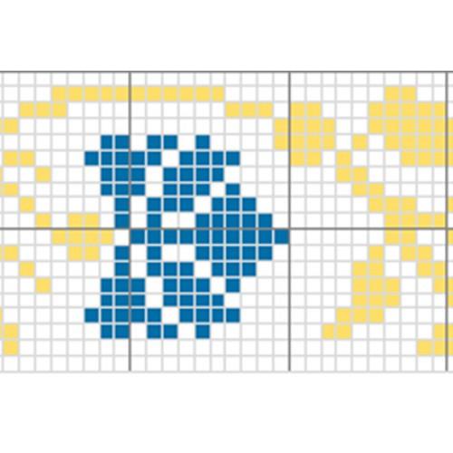 """Бесплатная схема для вышивки крестом """"Орнамент 13"""""""