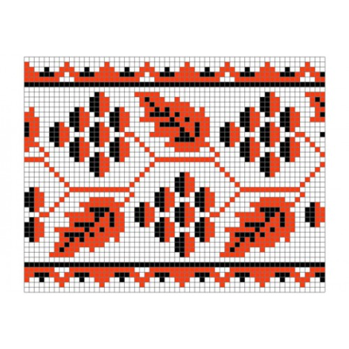 """Безкоштовна схема для вишивки хрестиком """"Орнамент 17"""""""