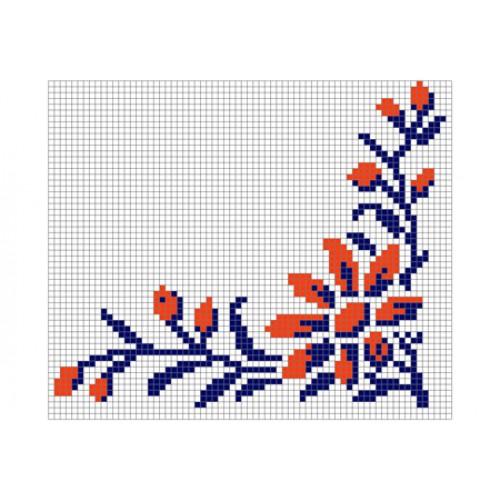 """Бесплатная схема для вышивки крестом """"Орнамент 23"""""""