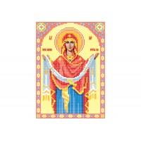 """""""Божья матерь Покрова"""" - Схема для вышивки бисером иконы"""