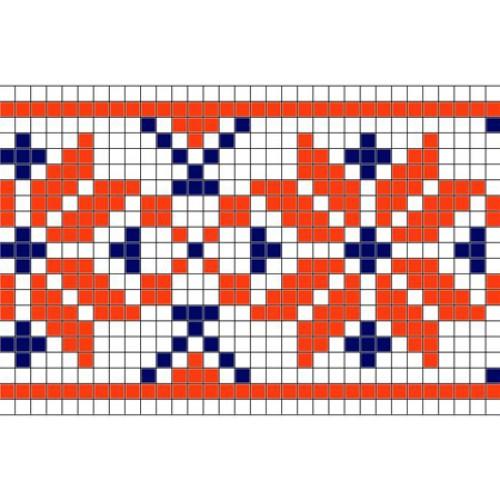 """Бесплатная схема для вышивки крестом """"Орнамент 26"""""""