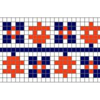 """Бесплатная схема для вышивки крестом """"Орнамент 30"""""""