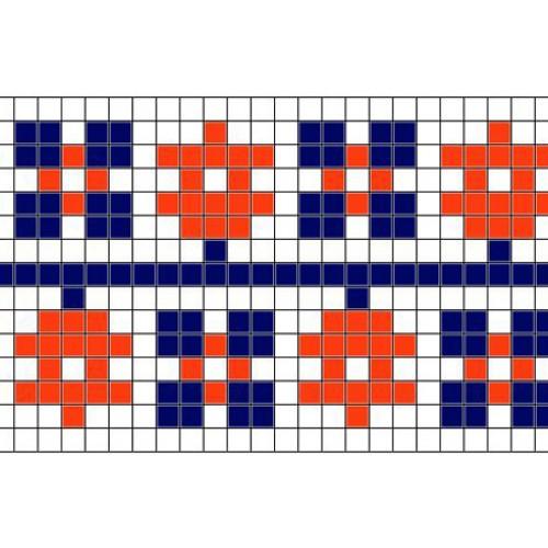 """Безкоштовна схема для вишивки хрестиком """"Орнамент 30"""""""