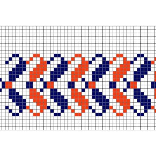 """Бесплатная схема для вышивки крестом """"Орнамент 31"""""""