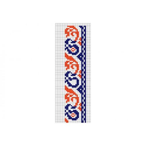 """Безкоштовна схема для вишивки хрестиком """"Орнамент 32"""""""