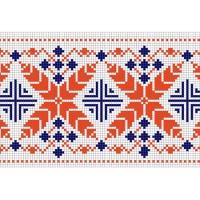 """Бесплатная схема для вышивки крестом """"Орнамент 37"""""""