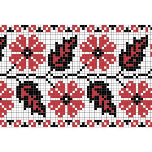 """Бесплатная схема для вышивки крестом """"Орнамент 39"""""""