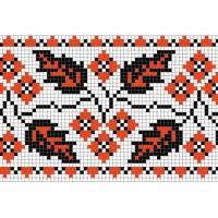 """Бесплатная схема для вышивки крестом """"Орнамент 40"""""""