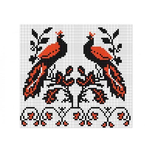 """Бесплатная схема для вышивки крестом """"Орнамент 41"""""""