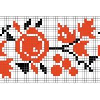 """Бесплатная схема для вышивки крестом """"Орнамент 42"""""""
