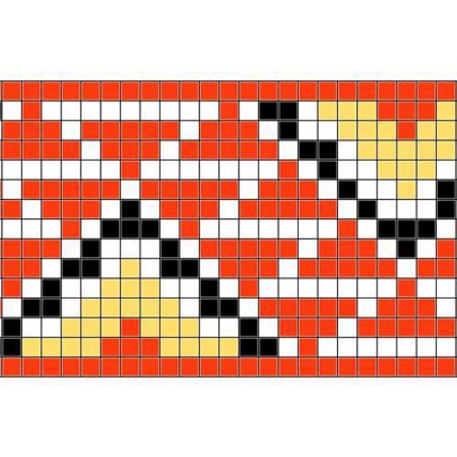 """Безкоштовна схема для вишивки хрестиком """"Орнамент 46"""""""