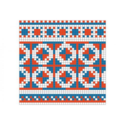 """Бесплатная схема для вышивки крестом """"Орнамент 52"""""""