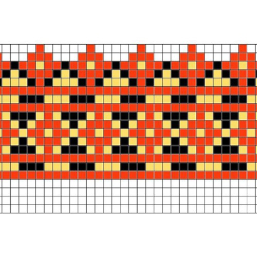 """Бесплатная схема для вышивки крестом """"Орнамент 54"""""""