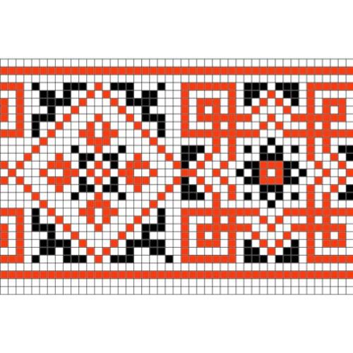 """Бесплатная схема для вышивки крестом """"Орнамент 55"""""""