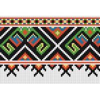 """Бесплатная схема для вышивки крестом """"Орнамент 56"""""""
