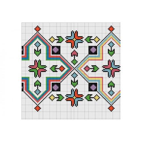 """Бесплатная схема для вышивки крестом """"Орнамент 60"""""""