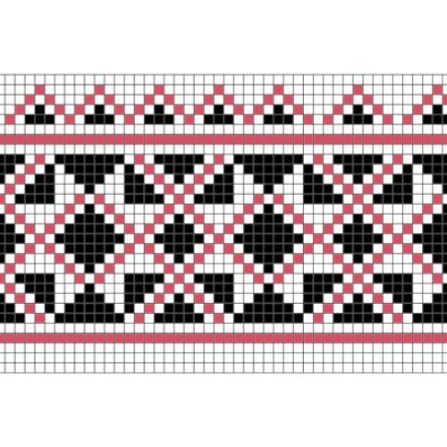 """Бесплатная схема для вышивки крестом """"Орнамент 62"""""""