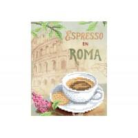 """""""Еспресо у Римі"""" - Схема для вишивки бісером"""