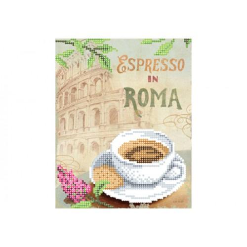 """Схема для вышивки бисером """"Еспрессо в Риме"""""""