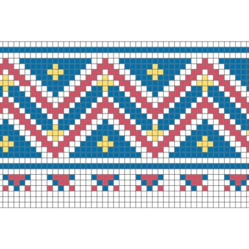 """Бесплатная схема для вышивки крестом """"Орнамент 63"""""""