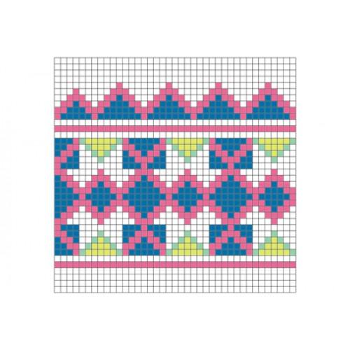 """Бесплатная схема для вышивки крестом """"Орнамент 64"""""""