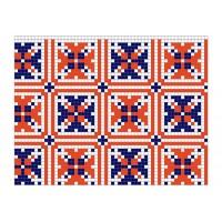 """Бесплатная схема для вышивки крестом """"Орнамент 74"""""""