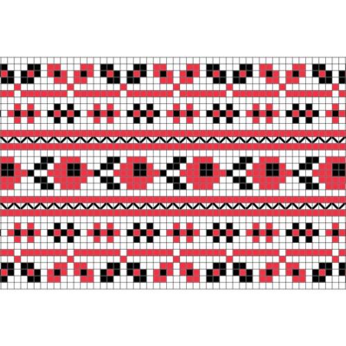 """Безкоштовна схема для вишивки хрестиком """"Орнамент 76"""""""