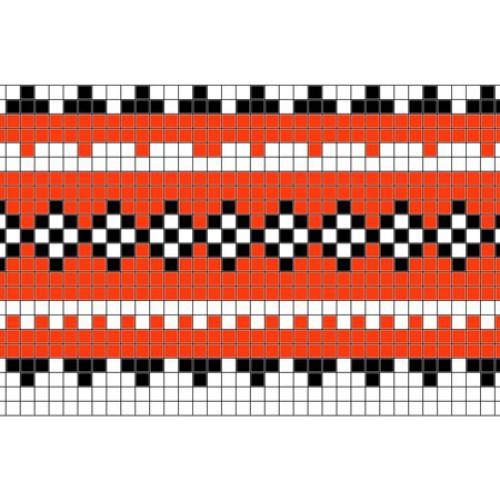 """Бесплатная схема для вышивки крестом """"Орнамент 77"""""""