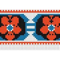 """Бесплатная схема для вышивки крестом """"Орнамент 80"""""""