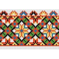 """Бесплатная схема для вышивки крестом """"Орнамент 81"""""""