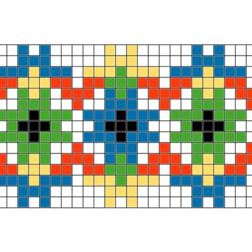 """Бесплатная схема для вышивки крестом """"Орнамент 82"""""""