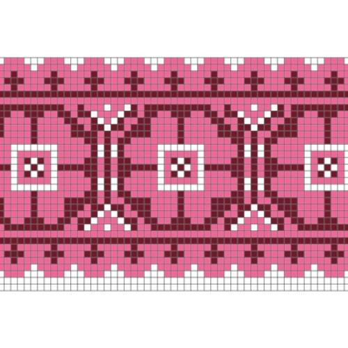"""Бесплатная схема для вышивки крестом """"Орнамент 85"""""""