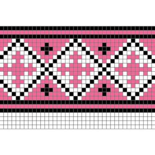 """Бесплатная схема для вышивки крестом """"Орнамент 87"""""""
